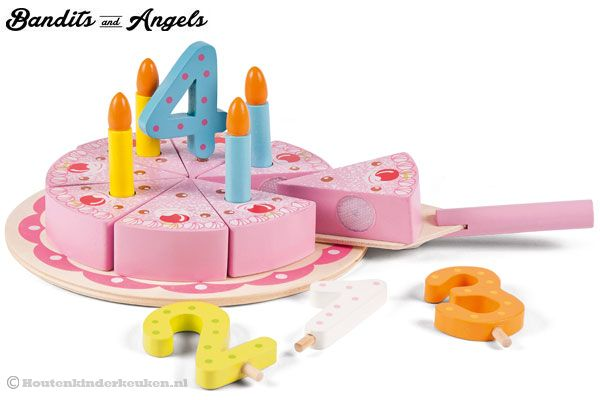Amazing Bandits Angels Pink Birthday Cake Houtenkinderkeuken Nl Birthday Cards Printable Nowaargucafe Filternl