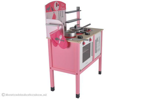 Janod Keuken Roze : Janod houten keuken roze.
