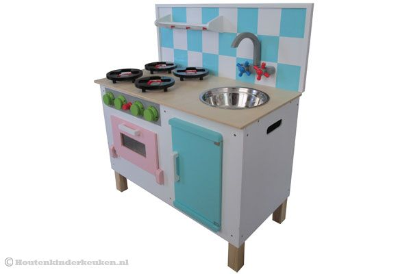 Houten Keuken Deluxe : Home Keukenblok DeluxeHoutenkinderkeuken nl