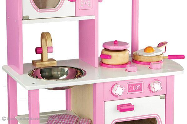 Keuken Accessoires Kinderkeuken : New Classic Toys Prinsessen keuken Houtenkinderkeuken.nl